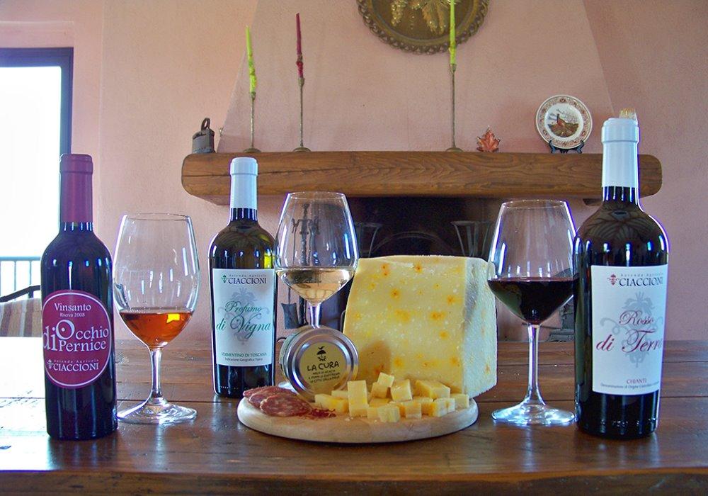 VINI TOSCANI E ZAFFERANO Zafferano di Città della Pieve incontra i vini Ciaccioni