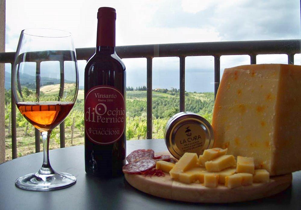ZAFFERANO DI CITTA' DELLA PIEVE I prodotti a base di zafferano incontrano i vini Ciaccioni