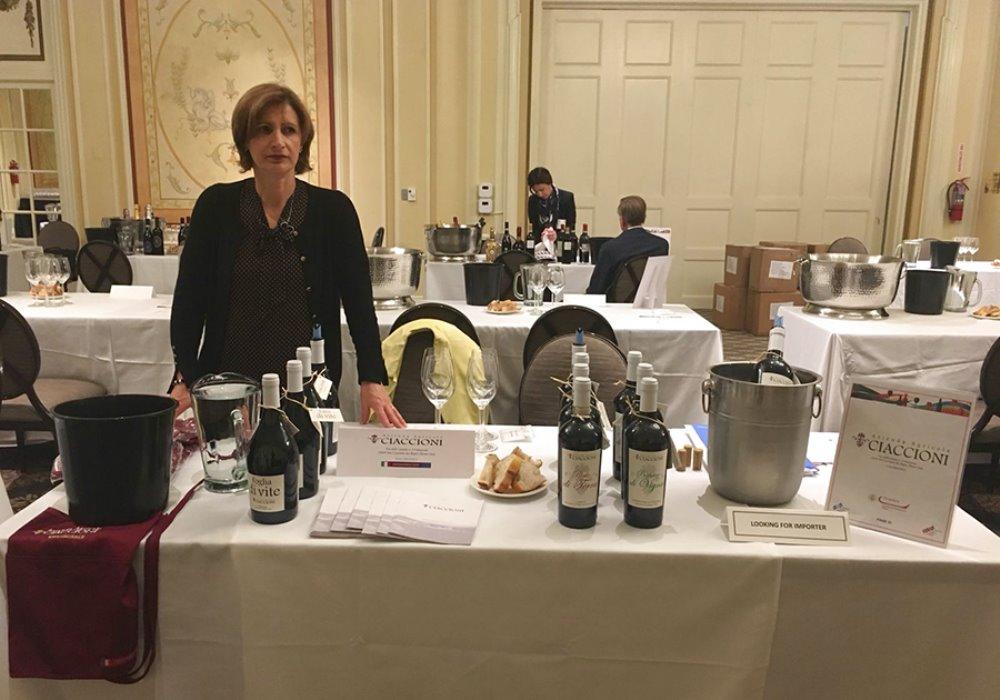 VINI CIACCIONI A SAN FRANCISCO Successo negli USA per i vini Ciaccioni